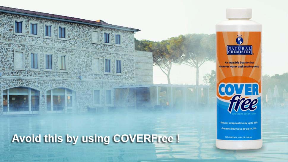 pool without coverfree liquid pool cover